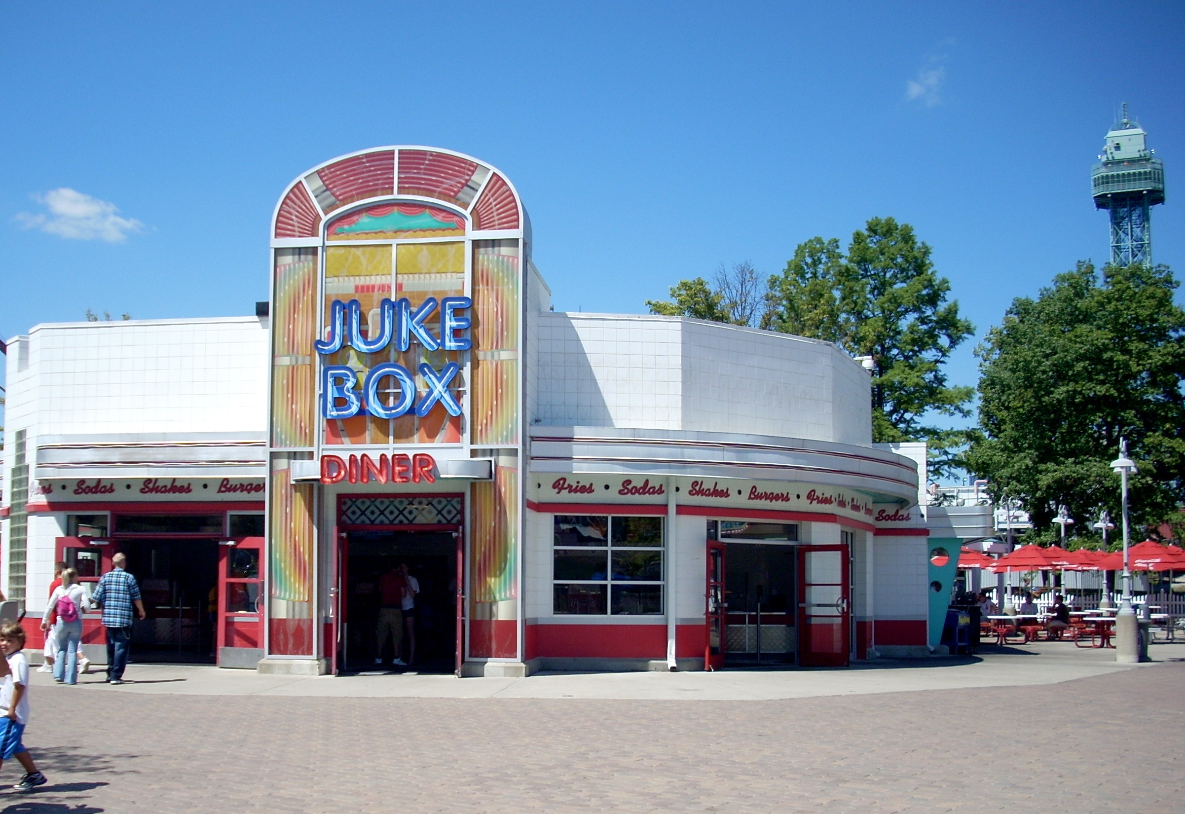 Restaurants Hanna Barbera Land Kings Island Unled Doent