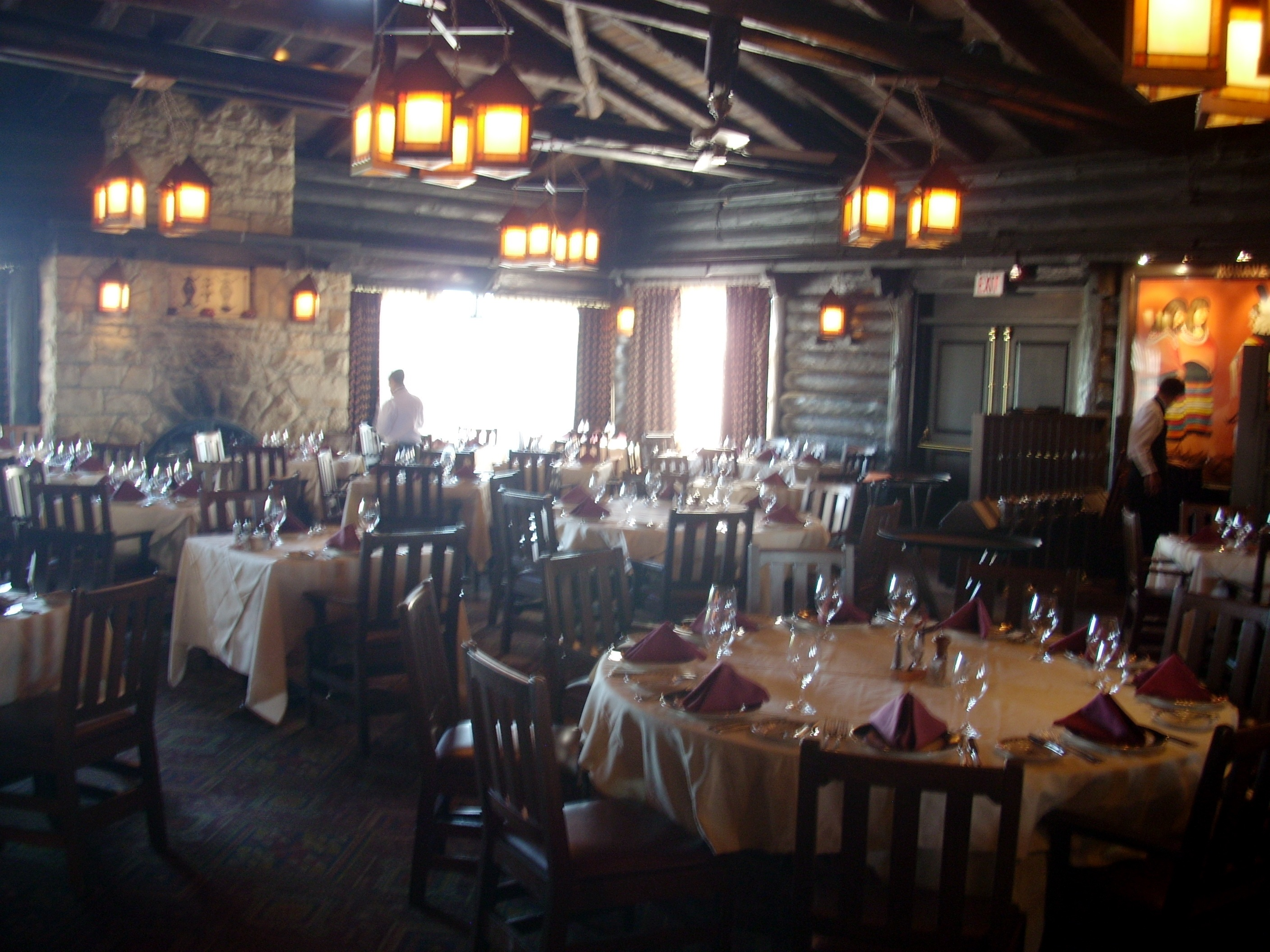 The premier restaurant on the South Rim is the El Tovor Dining Room   Breakfast specialties are Trout   Eggs  Sonoran Chorizo Eggs  two eggs with  chorizo. GC Restaurants