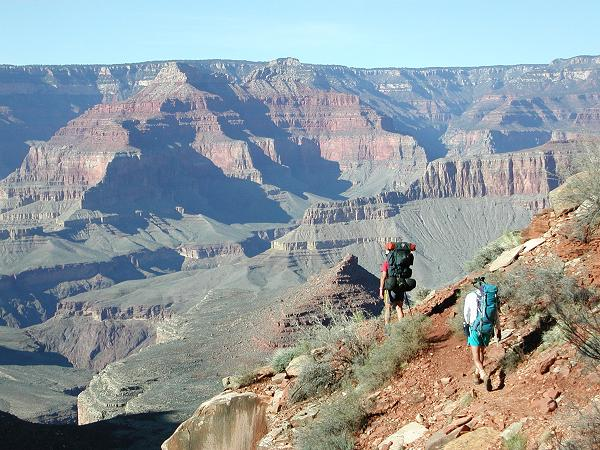 Grand Canyon Hiking Boucher Trail