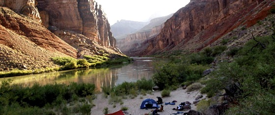 Grand Canyon Beamer Trail Campsite